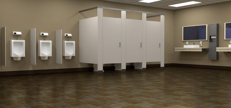 男子 トイレ 飛び散り